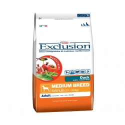 Exclusion Mediterraneo Adult Medium Breed con Anatra