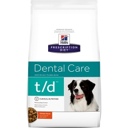 Hill's t/d Prescription Diet Canine secco