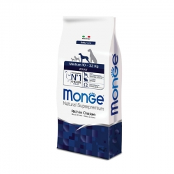 Monge Natural Superpremium Adult Medium Pollo