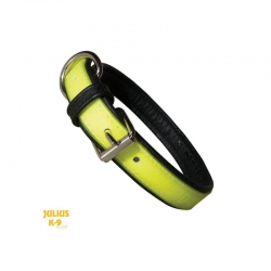 Julius K9 Collare IDC Lumino Giallo Fosforescente