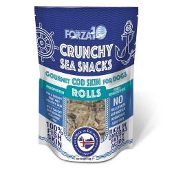 Forza 10 Snack al Pesce Cod Skin Rolls