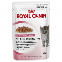 Royal Canin Kitten Instinctive in Gelatina 12x o 24x 85 g