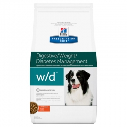 Hill's w/d Prescription Diet Canine secco 12 Kg