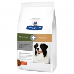 Hill's Metabolic + Mobility Prescription Diet Canine secco 12 Kg