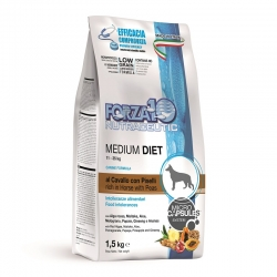 Forza 10 Medium Diet Adult Cavallo e Piselli - 1.5 kg