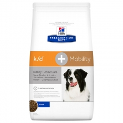 Hill's k/d + Mobility Prescription Diet Canine