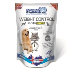 Forza 10 Active Line Weight Control Actiwet Pesce 12x 100g