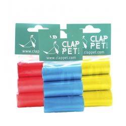 Sacchetti Igienici Vari Colori 6 Rotoli da 15 Sacchetti