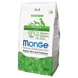 Monge All Breed Coniglio, Riso e Patate 12 Kg
