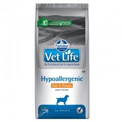 Farmina Vet-Life Hypoallergenic Fish e Potato 12 Kg