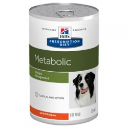 Hill's Metabolic Prescription Diet Canine Umido 12x 370g