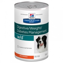 Hill's w/d Prescription Diet Canine Umido 12x 370 g