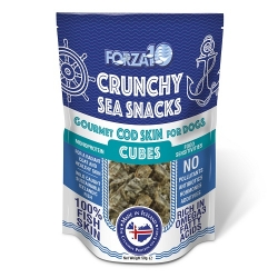 Forza 10 Snack al Pesce Cod Skin Cubes