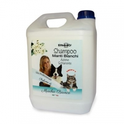 Dream Pet's Shampoo Manti Bianchi Schiarente Muschio Bianco 5 lt.