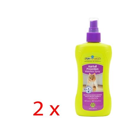 FURminator Gatto Hairball Prevention Spray 2 x 250 ml