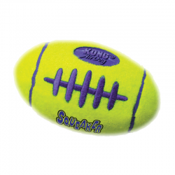 Kong Squeaker Football
