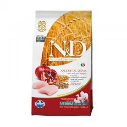 Farmina N&D Low Grain Pollo e Melograno Medium