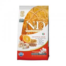Farmina N&D Low Grain Merluzzo e Arancia Medium