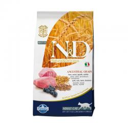 Farmina N&D Low Grain Feline Agnello e Mirtillo