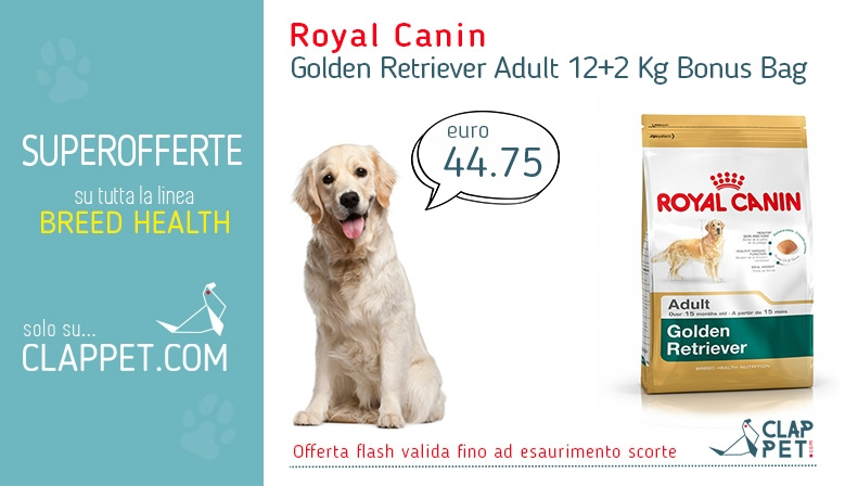 Royal Canin Golden Retriever Offerta